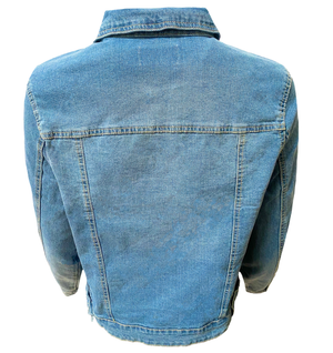 Women's Classic Denim Jacket (Plus Size)