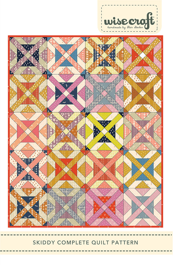Skiddy Quilt Pattern by Wise Craft Handmade