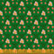 Malibu by Heather Ross for Windham Fabrics | Wood Block in Dark Green