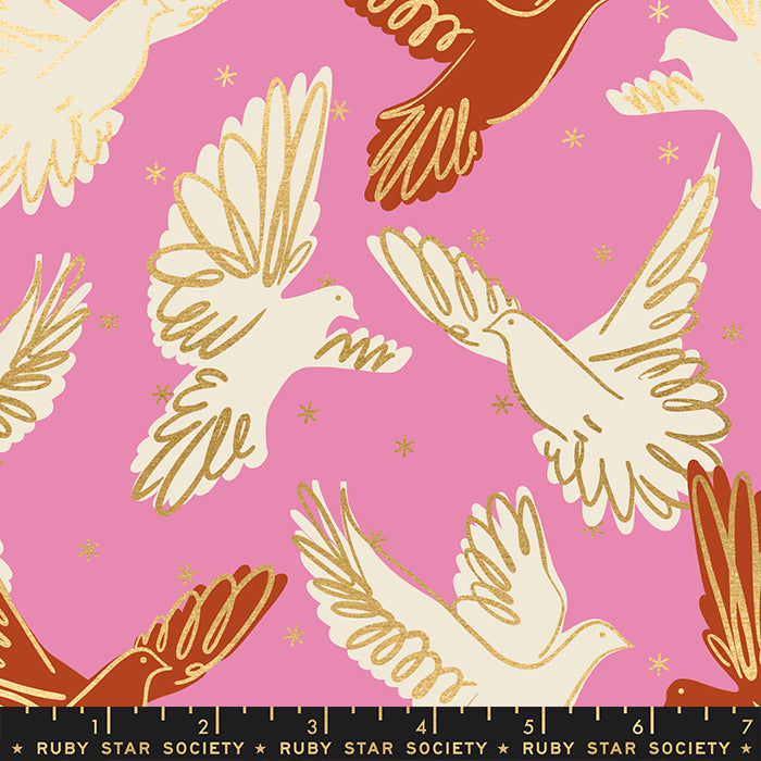 Rise | Fly in Kiss by Melody Miller | Ruby Star Society Fabrics