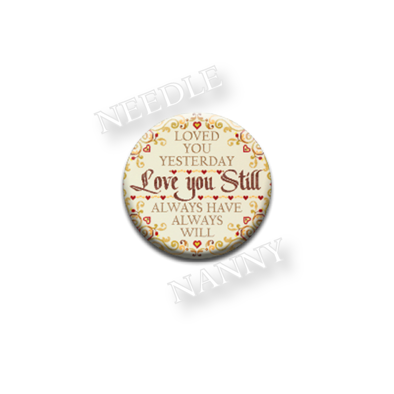 Love You Still Needle Nanny by Zappy Dots