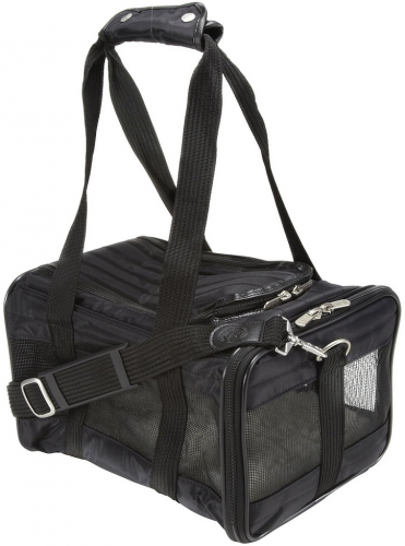 Sherpa Original Deluxe Black Pet Carrier