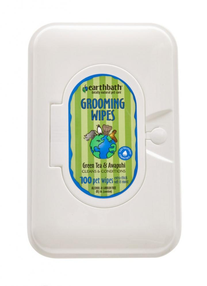 Grooming wipes for cleanups on the go