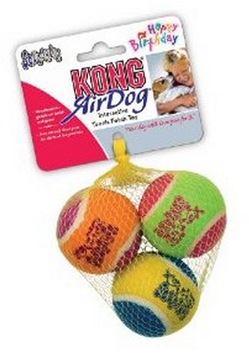 Try KONG balls, perfect for both inside and outside play