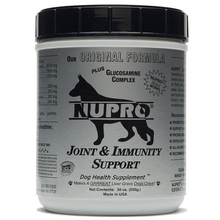 A joint supplement to keep them moving