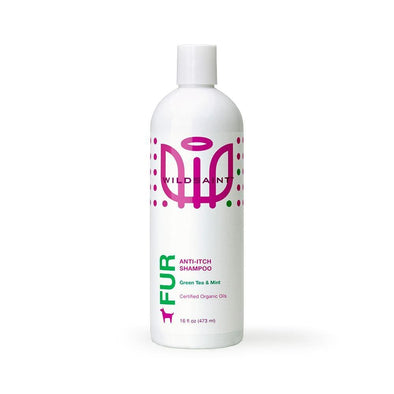 Wildsaint Anti Itch Dog Shampoo with Neem, Mint and Aloe