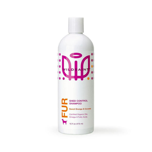 Wildsaint Shed Control Dog Shampoo with Omega 3 Fatty Acids, Orange Oil and Coconut Oil