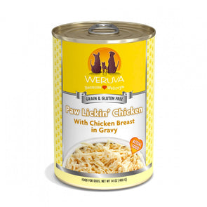 Weruva Paw Lickin Chicken with Chicken Breast in Gravy Canned Dog Food