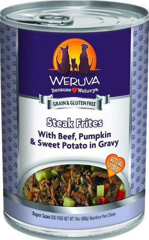 Weruva Steak Frites Single Canned Dog Food