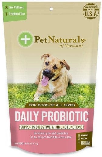 Pet Naturals of Vermont Daily Probiotic Dog Chews
