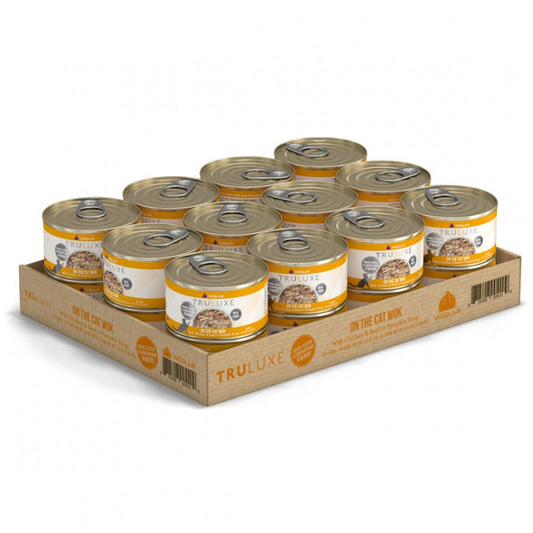 Weruva TRULUXE On The Cat Wok with Chicken and Beef in Pumpkin Soup Canned Cat Food