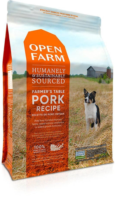 Open Farm Grain Free Farmer's Table Pork Recipe Dry Dog Food