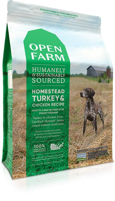 Open Farm Grain Free Homestead Turkey & Chicken Recipe Dry Dog Food