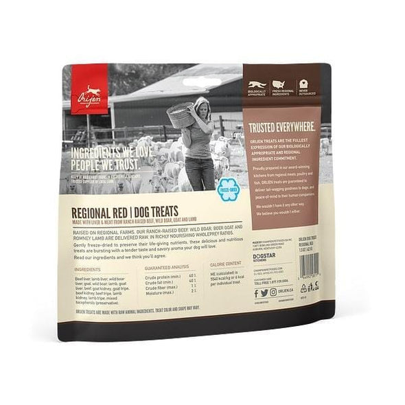 ORIJEN Freeze Dried Regional Red Dog Treats