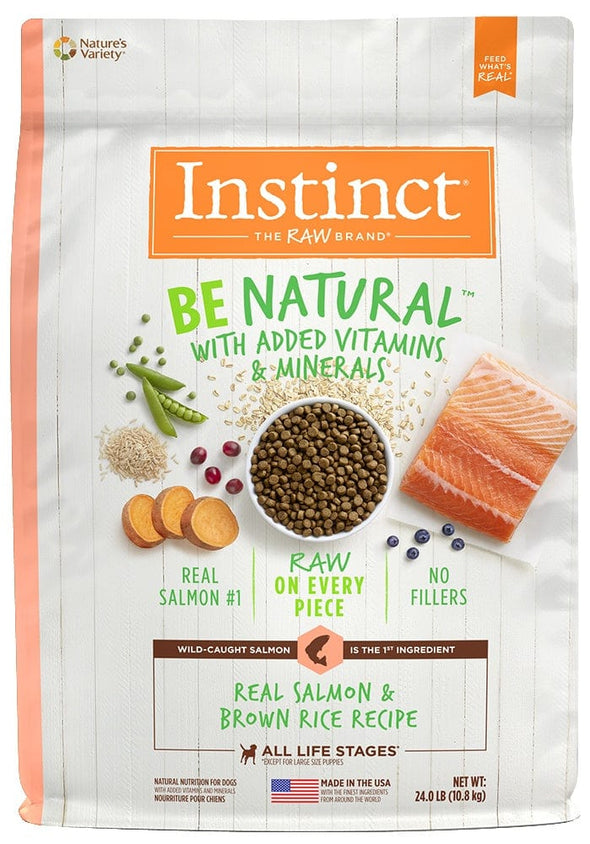 Nature's Variety Instinct Be Natural Salmon & Brown Rice Recipe Dry Dog Food