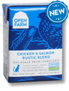Open Farm Grain Free Chicken & Salmon Recipe Rustic Blend Wet Cat Food