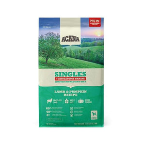 ACANA Singles + Wholesome Grains Limited Ingredient Diet Lamb & Pumpkin Recipe Dry Dog Food
