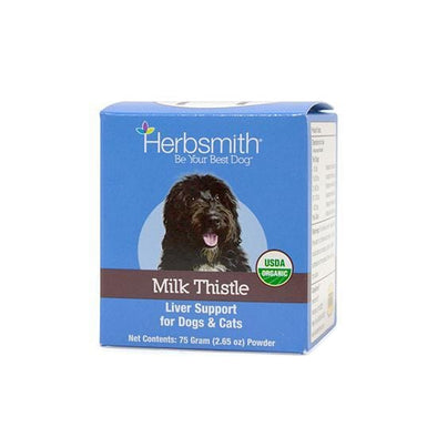 Herbsmith Milk Thistle Liver Support for Cats and Dogs