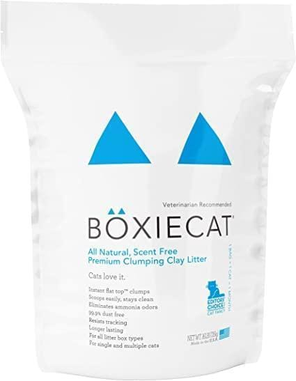 Boxiecat Scent-free Premium Clumping Clay Cat Litter