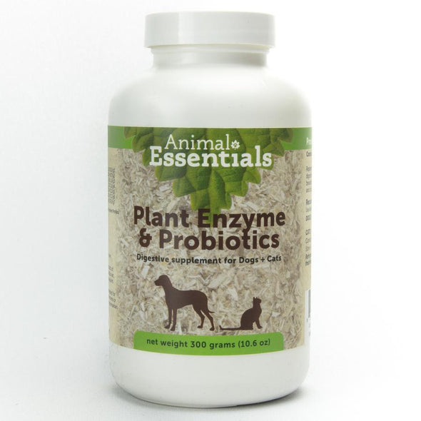 Animal Essential Plant Enzyme with Probiotics Digestive Supplement for Dogs and Cats
