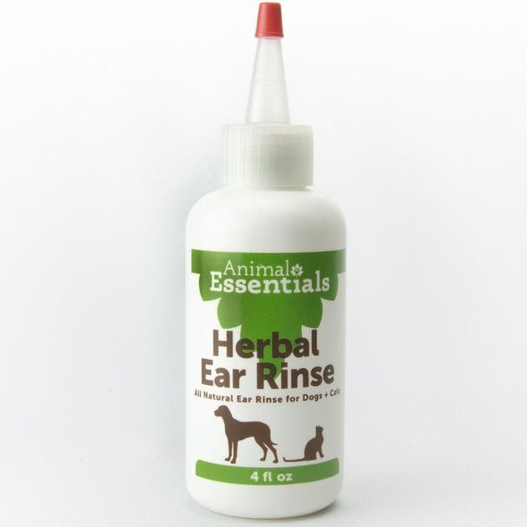 Animal Essentials Herbal Ear Rinse for Dogs and Cats