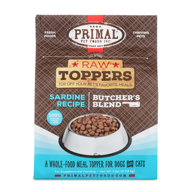 Primal Sardine Butcher's Blend Raw Frozen Topper
