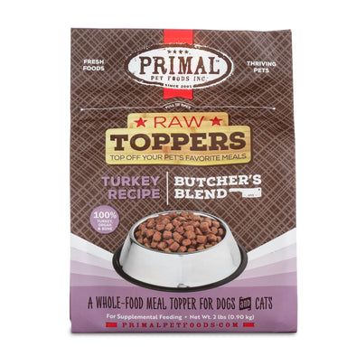Primal Turkey Market Mix Raw Frozen Topper