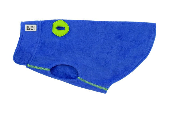 RC Pet Baseline Fleece Blue and Lime Pullover Sweater for Dogs