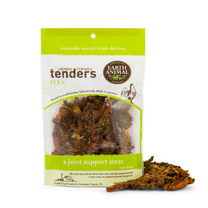 Earth Animal Flex Herbed Chicken Tenders Dog Treats