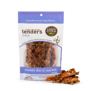 Earth Animal Shine Herbed Chicken Tenders Dog Treats