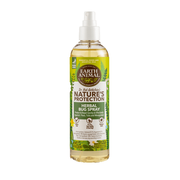 Earth Animal Nature's Protection™ Flea & Tick Herbal Bug Spray for Dogs