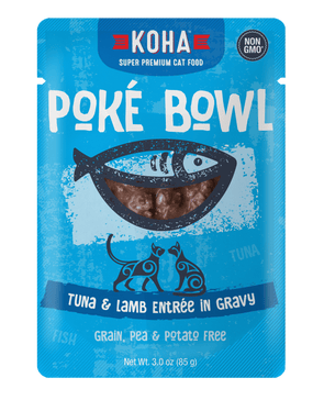 Koha Poké Bowl Tuna & Lamb Entrée in Gravy Wet Cat Food Pouch
