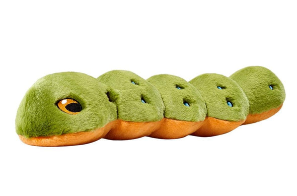 Fluff and Tuff Katie Caterpillar Plush Dog Toy