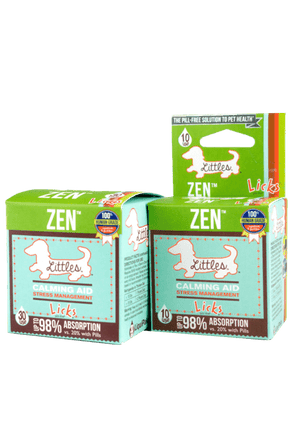 Licks Pill Free Littles Zen Calming Aid Supplement for Dogs