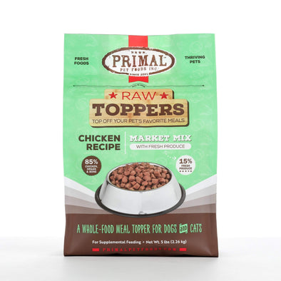 Primal Chicken Butcher's Blend Raw Frozen Topper