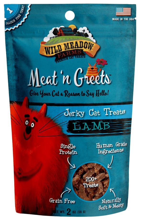 Wild Meadow Farms Lamb Meat'N Greets Treats for Cats