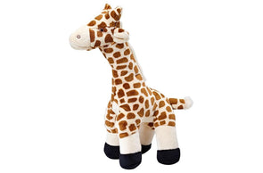 Fluff and Tuff Nelly Giraffe Plush Dog Toy
