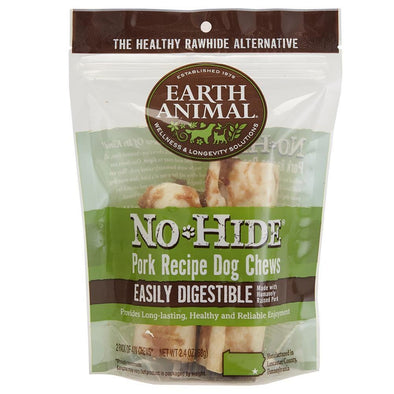 Earth Animal 2-Pack No-Hide Pork Chew Dog Treats