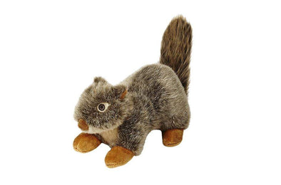 Fluff and Tuff Nuts Squirrel Plush Dog Toy