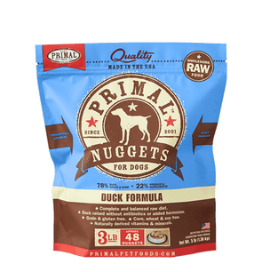 Primal Raw Frozen Duck Formula For Dogs