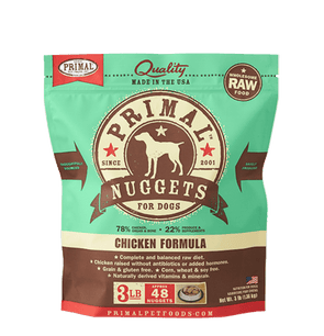 Primal Raw Frozen Chicken Formula For Dogs