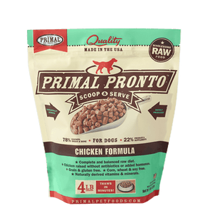 Primal Pronto Raw Frozen Chicken Formula For Dogs