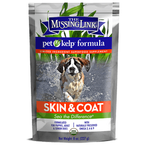 The Missing Link Pet Kelp Formula – Skin & Coat – Limited Ingredient Superfood Supplement for Dogs