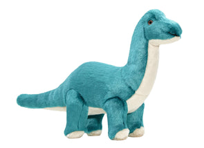 Fluff and Tuff Ross Brachiosaurus Plush Dog Toy
