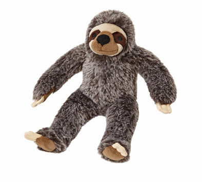 Fluff and Tuff Sonny Sloth Plush Dog Toy