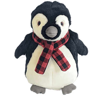 Fluff and Tuff Topper Penguin Plush Dog Toy