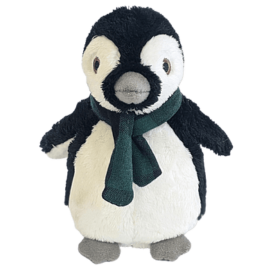 Fluff and Tuff Tux Penguin Plush Dog Toy