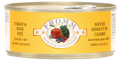 Fromm Four-Star Turkey & Duck Pâté Canned Cat Food