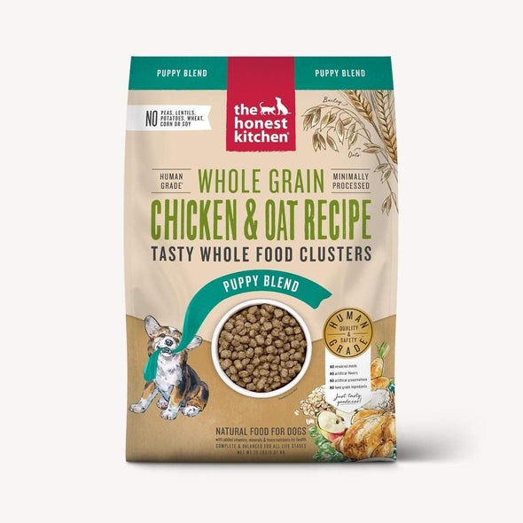 The Honest Kitchen Whole Food Clusters For Puppies - Whole Grain Chicken Dry Dog Food