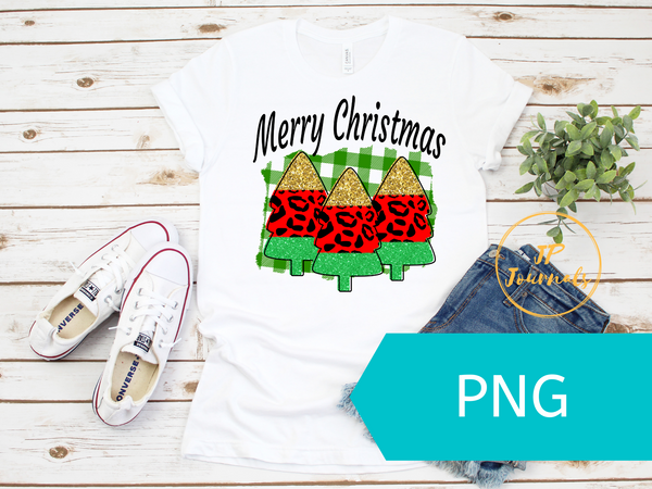 Merry Christmas Sublimation Graphic Design Instant Download PNG File
